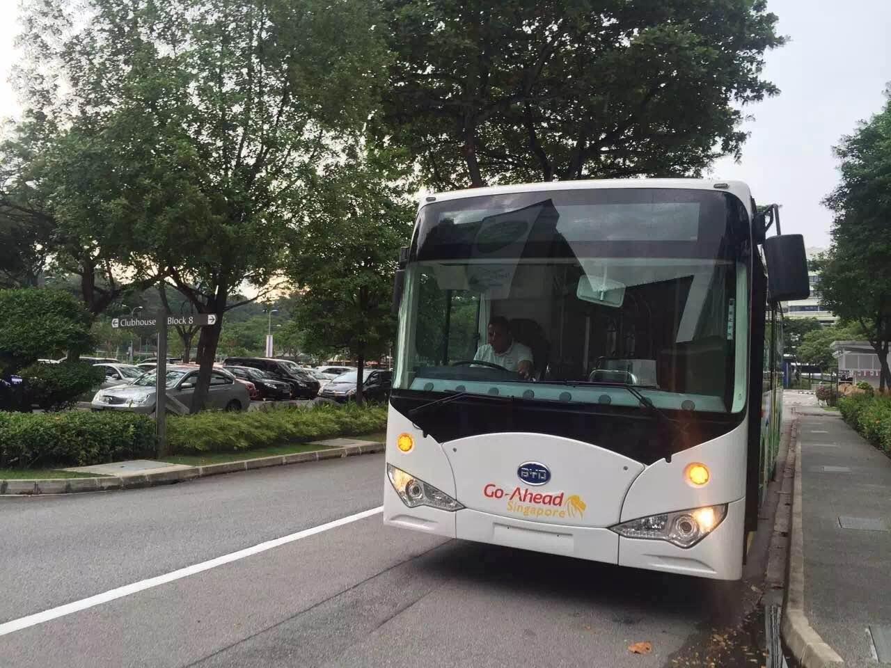 比亚迪汽车的官方微信透露,目前,新加坡1.