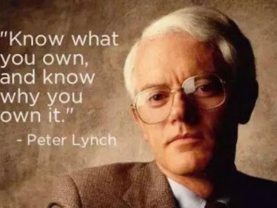 巴菲特传授亿万富翁彼得林奇的经验:如何接受自己的错误