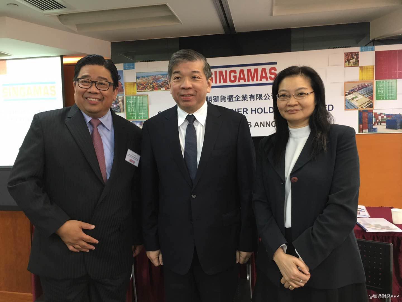 胜狮货柜(00716.HK)有意出售5间集装箱业务公司