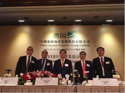 业绩会实录︱中国奥园(03883):预计房地产市场出现分化 不上调销售目标