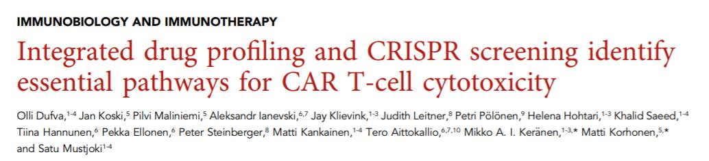 IAP抑制剂,大大增强CAR-T细胞杀伤能力