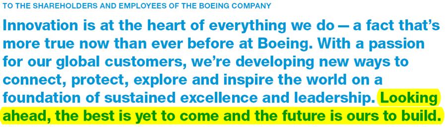 榨干波音这件事:空客和737max没成功,波音股东做到了
