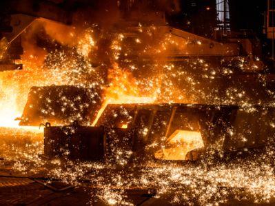 港股异动︱K&S以86%平均产能营运 铁货(01029)大涨20.54%