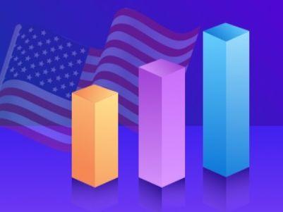 隔夜美股 | 三大指数微跌 芯片股大涨 AMD(AMD.US)涨近12%