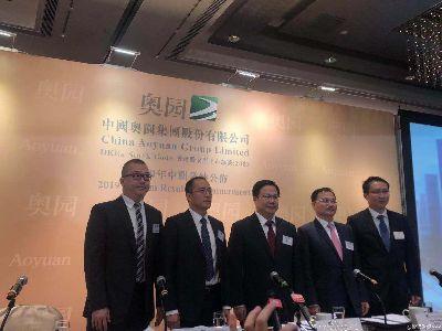 业绩会实录| 中国奥园(03883):布局旧改增加大湾区土储 对完成全年销售目标有信心