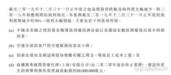 """大涨27%后发盈警,圆通速递(06123)再度玩起利润波动""""套路"""""""