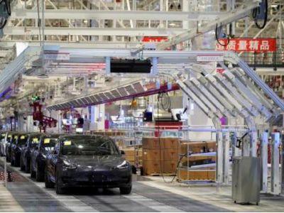 特斯拉(TSLA.US)上海工厂二期外部建设即将完成,或者年内启动试生产