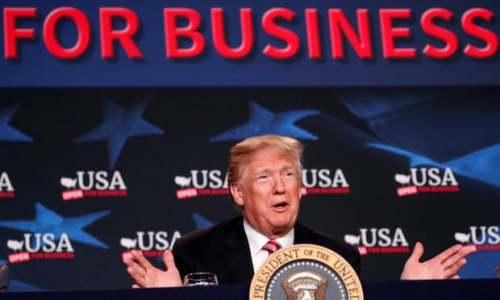 特朗普再次炮轰美联储:GDP没4%主要因为其货币政策